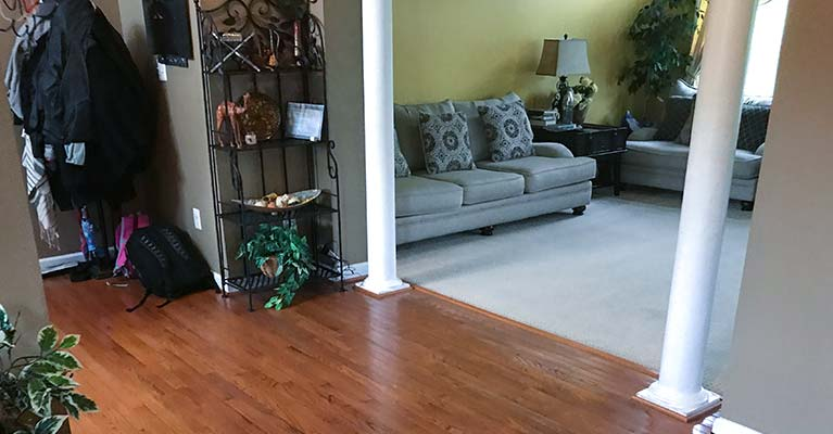 Refinishing Hardwood Floor Baltimore-NorthWest
